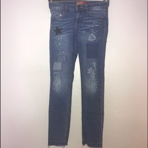 Arizona Girls Skinny Jeans Size 10